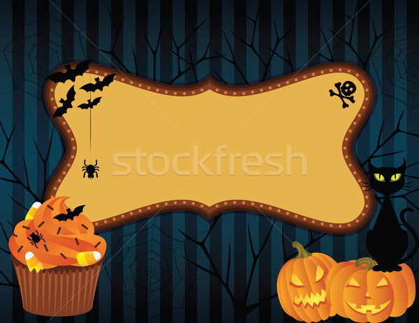 halloween banner Stock photo © wingedcats