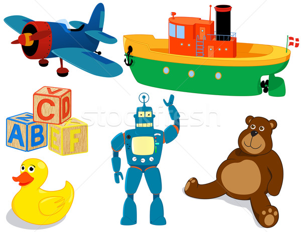 Toys set Stock photo © wingedcats