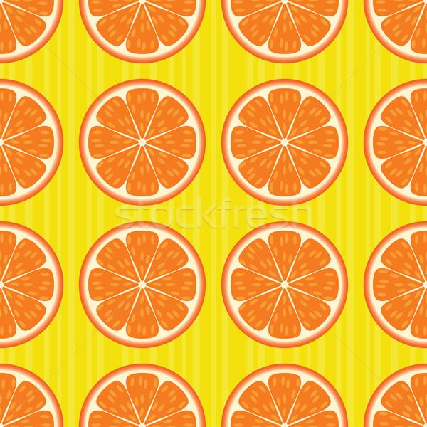 апельсинов прибыль на акцию глобальный Сток-фото © wingedcats