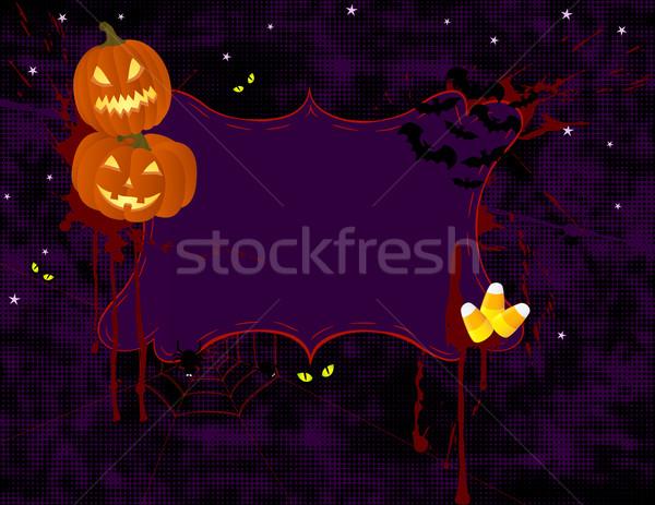Halloween Banner Stock photo © wingedcats
