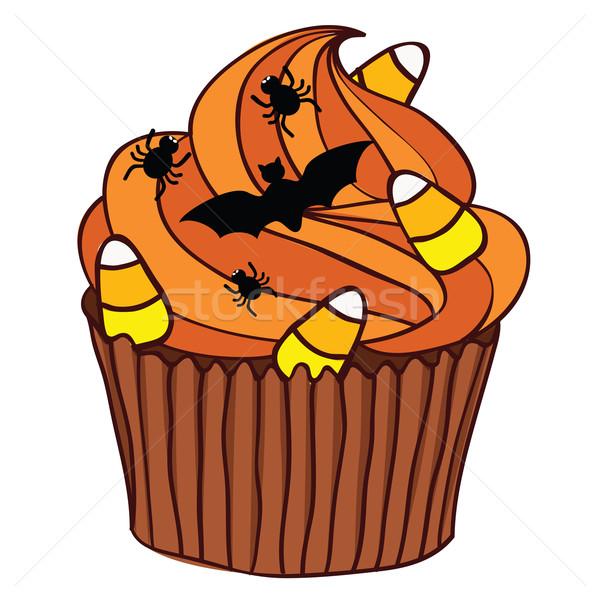Halloween Cupcake Stock photo © wingedcats