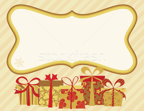 Christmas Card Stock photo © wingedcats