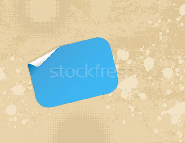 Sticker muur textuur Stockfoto © wingedcats