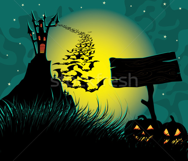 Halloween Background Stock photo © wingedcats