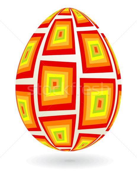 ретро пасхальное яйцо Сток-фото © wingedcats