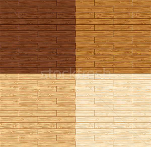 бесшовный деревянный пол текстуры древесины природы Сток-фото © wingedcats