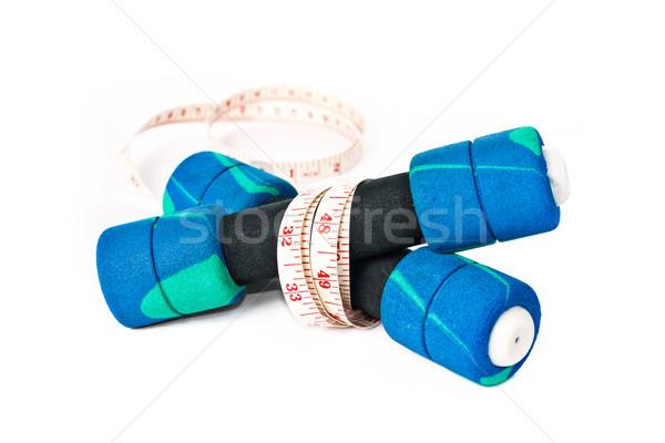 Wody fitness siłowni butelki tłuszczu Zdjęcia stock © winnond