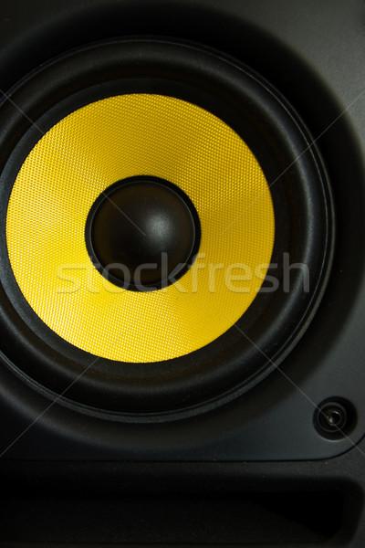 Alto-falante tecnologia rádio teatro poder soar Foto stock © winnond