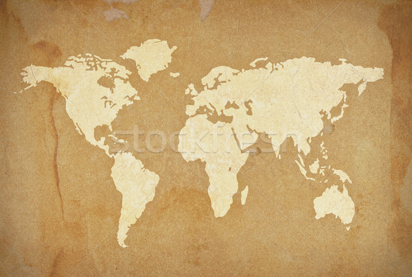 old paper world Stock photo © winnond