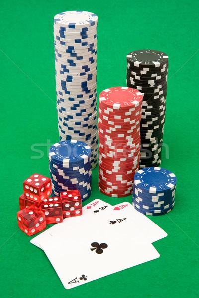 Poker Equipment Stock photo © winterling