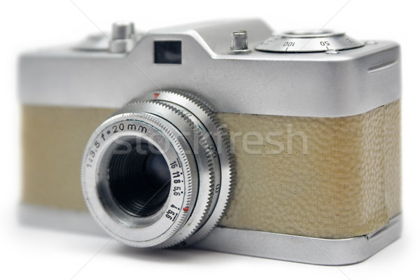 Small Analog Camera Stock photo © winterling