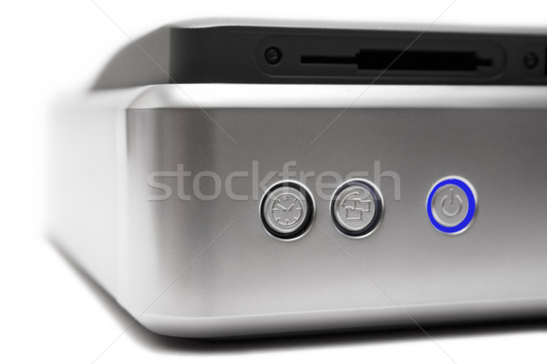 External Hard Drive Close View Stock photo © winterling