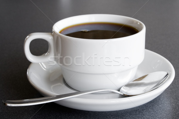 Cup of Black Coffee Stock photo © winterling