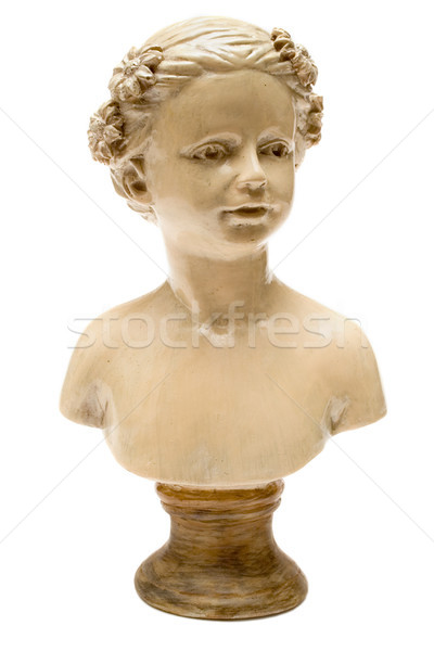Small Bust of a Girl Stock photo © winterling