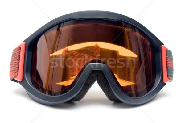 Front widoku oka ochrony odizolowany Zdjęcia stock © winterling