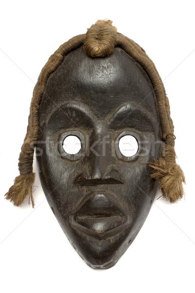 Vrouwelijke carnaval masker antieke geïsoleerd Stockfoto © winterling