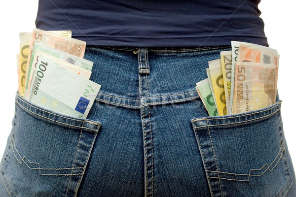 Pockets Full of Money Stock photo © winterling
