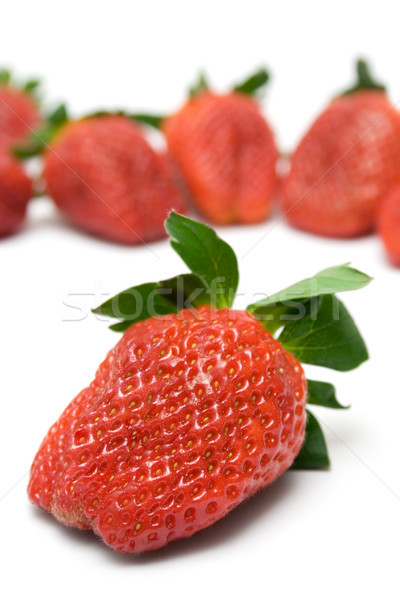 Delicious Strawberries Stock photo © winterling