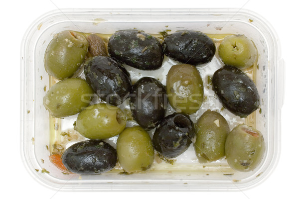 Oily Olives Stock photo © winterling