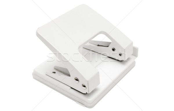 White Hole Puncher with Clipping Path Stock photo © winterling