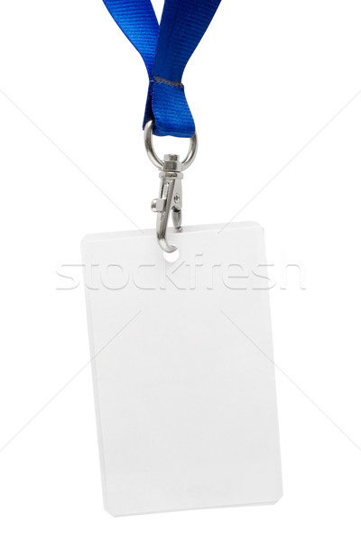 Press Pass with Clipping Path Stock photo © winterling