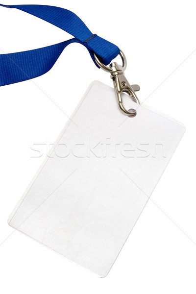 Blank Backstage Pass with Clipping Path Stock photo © winterling