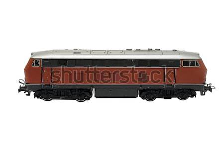 Wagon Model Side View with Clipping Path Stock photo © winterling