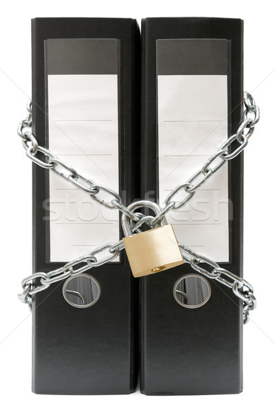 Protected File Folders Stock photo © winterling