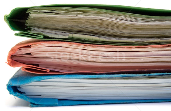 Red, Green and Blue Binder Stock photo © winterling