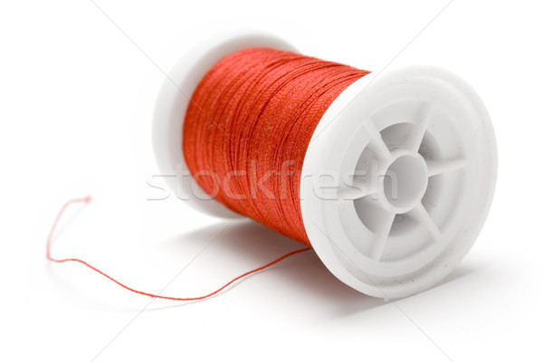 Spool of Red Thread Stock photo © winterling
