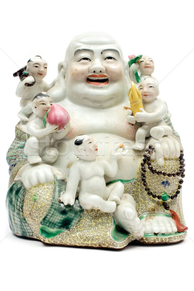 Colorful Porcelain Buddha Stock photo © winterling