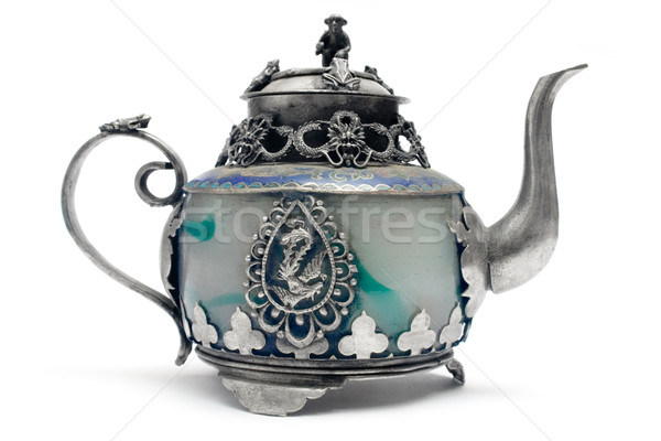 Stock photo: Antique Teapot