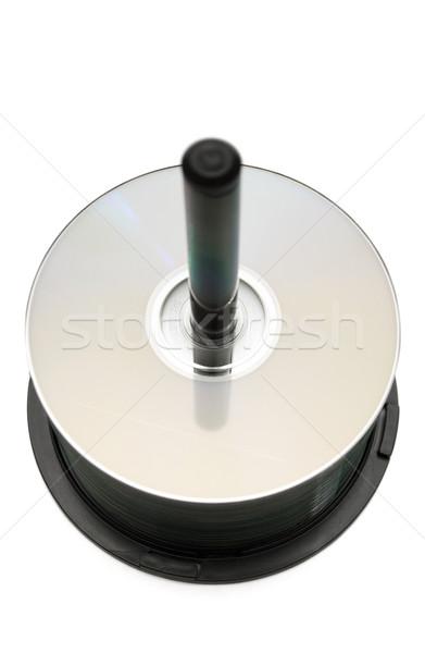 Cd cds isolado branco Foto stock © winterling