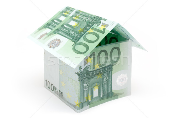 Small One Hundred Euro Cottage Stock photo © winterling