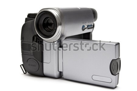 Digital Camcorder Front View Stock photo © winterling