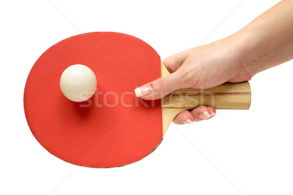 Playing Ping-Pong Stock photo © winterling