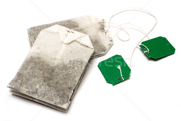 Two Teabags Stock photo © winterling