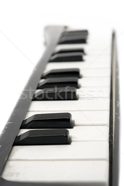 Old Grungy Keyboard Stock photo © winterling