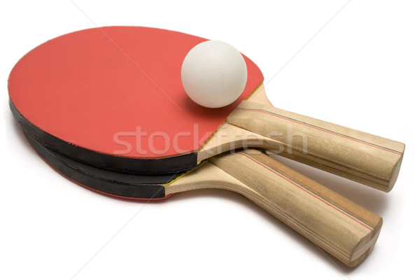 Ping Pong Paddles with Ball Stock photo © winterling