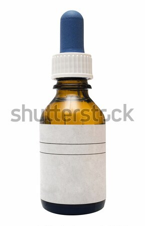 Medicine Bottle with Clipping Path Stock photo © winterling