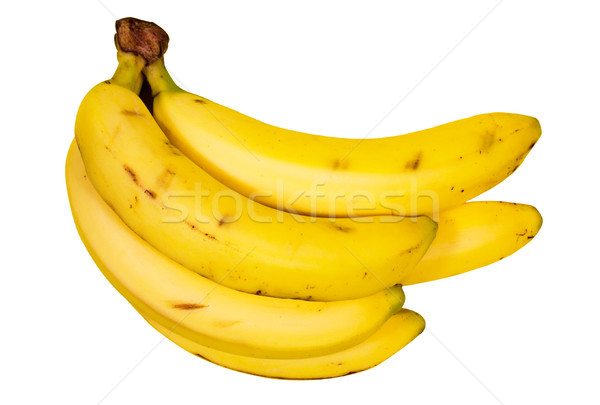 Several Bananas with Clipping Path Stock photo © winterling