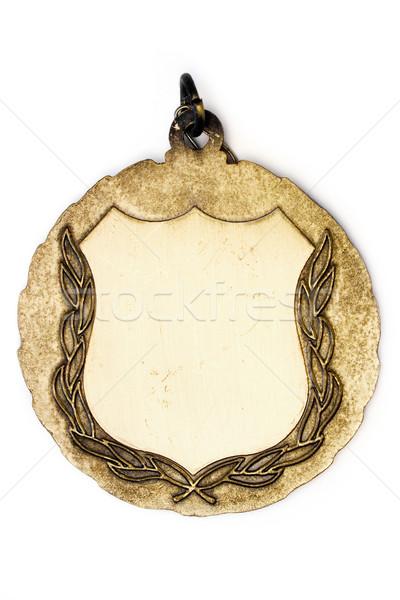 медаль честь изолированный белый фон Сток-фото © winterling
