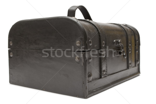 Old Treasure Chest Stock photo © winterling