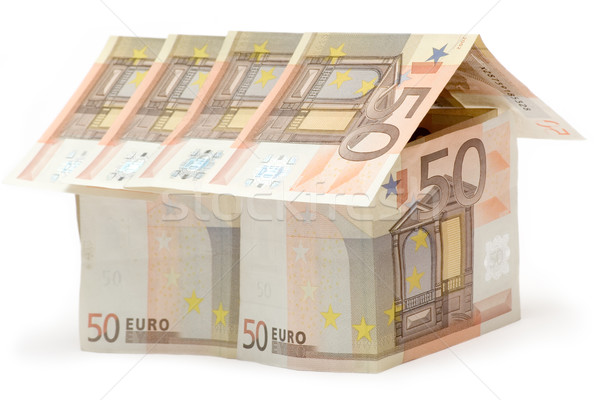 Fifty Euro House Stock photo © winterling