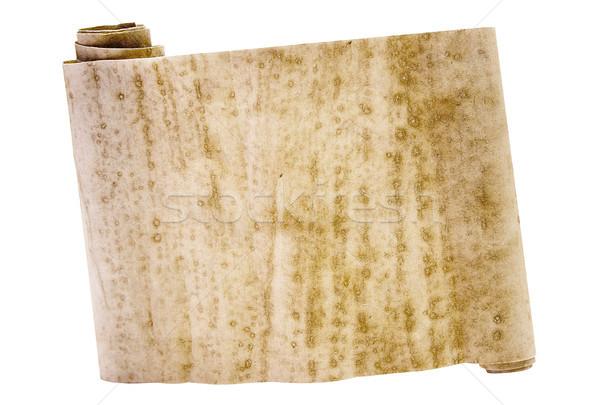 Antigo rolar velho isolado branco Foto stock © winterling