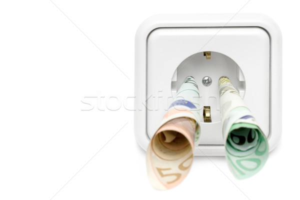 Electricity Costs Front View Stock photo © winterling