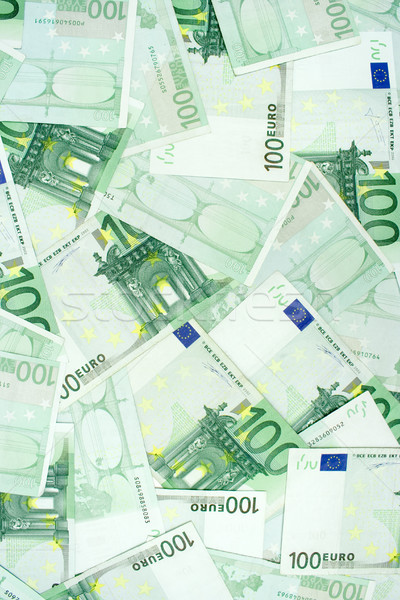 One Hundred Euro Banknotes Stock photo © winterling