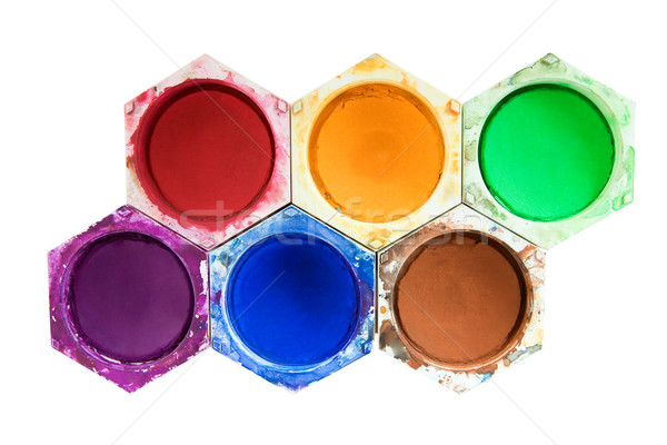 Stock photo: Different Watercolors