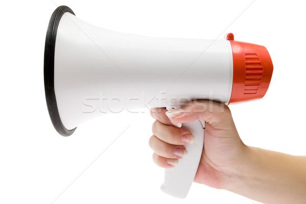 Shout It Out Loud Stock photo © winterling