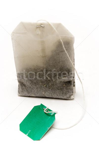 Standing Tea Bag Stock photo © winterling